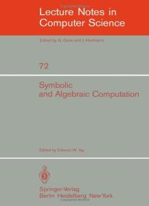 Symbolic and algebraic computation Proc. EUROSAM