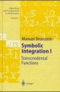 Symbolic Integration I: Transcendental Functions
