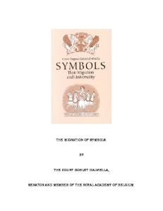 Symbols: Their Migration and Universality