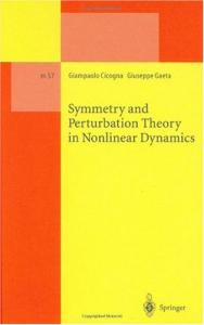 Symmetry and perturbation theory in nonlinear dynamics