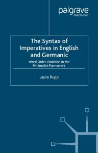 Syntax of Imperatives in English and Geramic: Word Order Variation in the Minimalist Framework