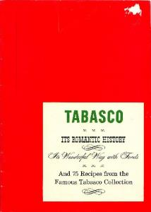 Tabasco, Its Romantic History
