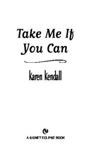 Take Me If You Can