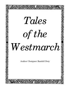 Tales of the Westmarch