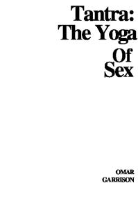Tantra: Yoga of Sex