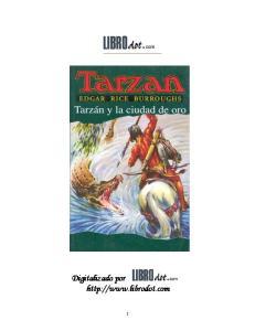 Tarzan y la ciudad de oro