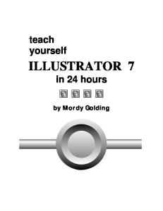 Teach yourself Illustrator 7 in 24 hours