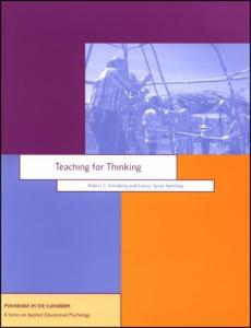 Teaching for Thinking (Psychology in the Classroom)