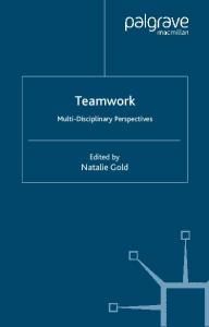 Teamwork: An Interdisciplinary Perspective