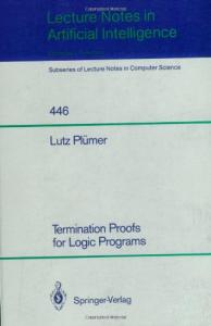Termination Proofs for Logic Programs