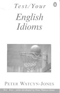 Test Your English Idioms