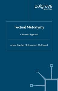 Textual Metonymy: A Semiotic Approach