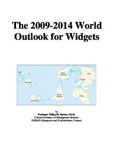 The 2009-2014 World Outlook for Widgets