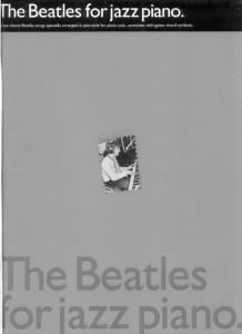 The Beatles For Jazz Piano (Piano Solo Personality)