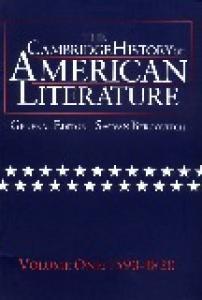 The Cambridge History of American Literature, Vol. 1: 1590-1820