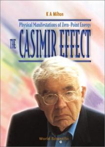 The Casimir effect: Physical manifestation of zero-point energy