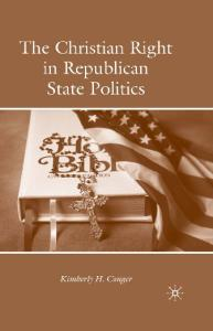 The Christian Right in Republican State Politics