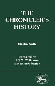 The Chronicler's History (JSOT Supplement Series)