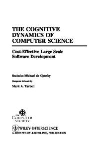 The Cognitive Dynamics Of Computer Science