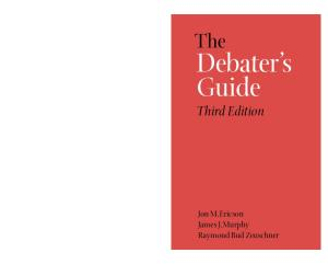 The debater's guide (Third Edition)