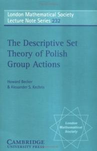 The descriptive set theory of polish group actions