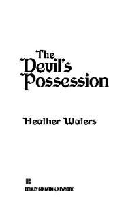 The Devil's Possession
