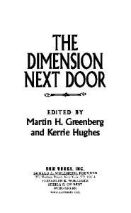 The Dimension Next Door