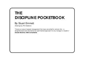 The Discipline Pocketbook (Management Pocketbook Series)