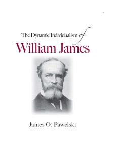The Dynamic Individualism of William James