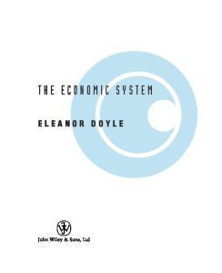 The Economic System