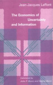 The economics of uncertainty and information