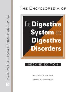 The Encyclopedia of the Digestive System and Digestive Disorders