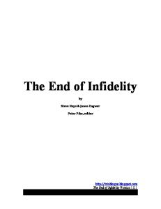 The End of Infidelity