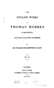 The English works of Thomas Hobbes of Malmesbury-03