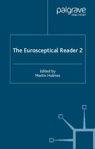 The Eurosceptical Reader 2