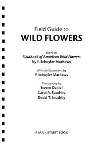 The Field Guide to Wild Flowers