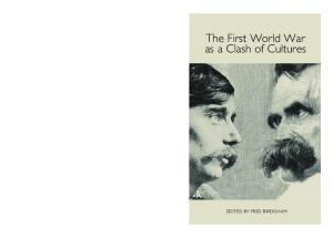 The First World War as a Clash of Cultures (Studies in German Literature Linguistics and Culture)