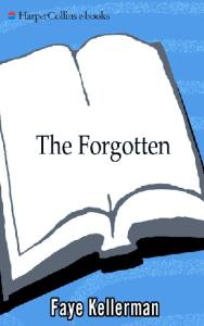 The Forgotten (The Peter Decker and Rina Lazarus Series - Book 13 - 2000)