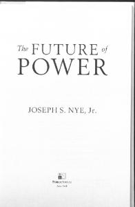 The Future of Power