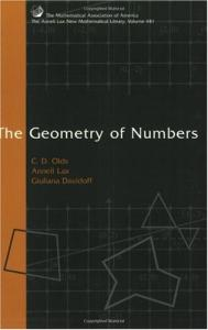 The geometry of numbers