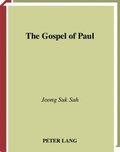 The Gospel of Paul (Studies in Biblical Literature, V. 56)