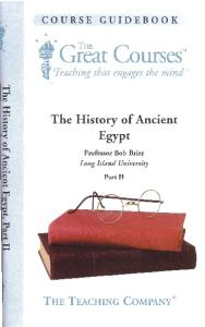 The History Of Ancient Egypt (Part II)