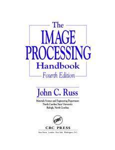 The Image Processing Handbook, Fourth Edition