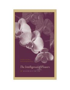 The Intelligence of Flowers
