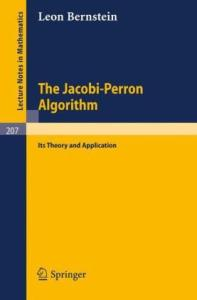 The Jacobi-Perron Algorithm Its Theory and Application