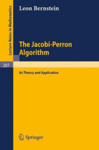 The Jacobi-Perron Algorithm
