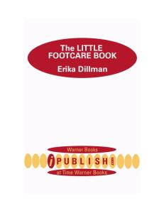 The Little Foot Care book