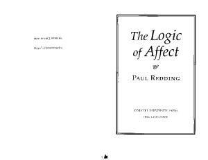 The Logic of Affect
