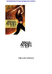 The Lost Scrolls (Rogue Angel, Book 6)