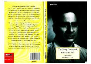 The Many Careers of D. D. Kosambi